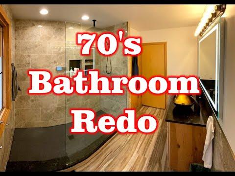 Bathroom Redo – 70's Shower to Dual Head Alexa Enabled Shower