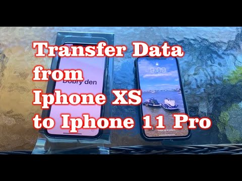 Transfer Data from Iphone XS to Iphone 11 Pro (Wifi Method) Apps / Music / Contacts