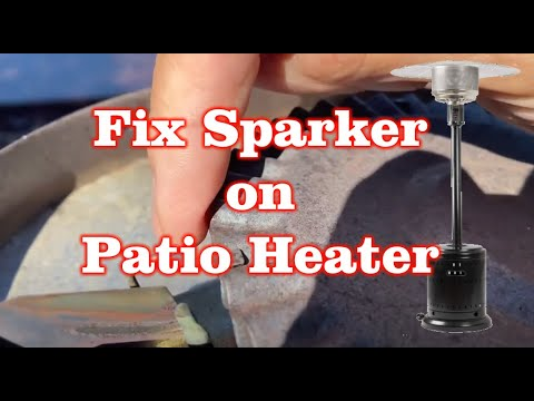Fix Sparker / Heat going out on Outdoor Patio Heater