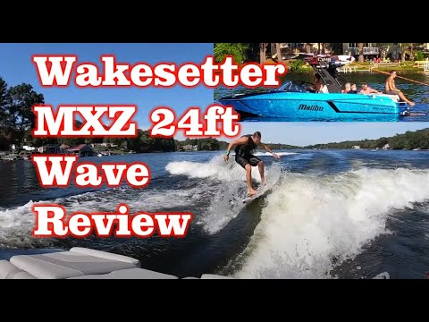 Malibu 24 MXZ Wakesetter 2018 Surf Wave Review