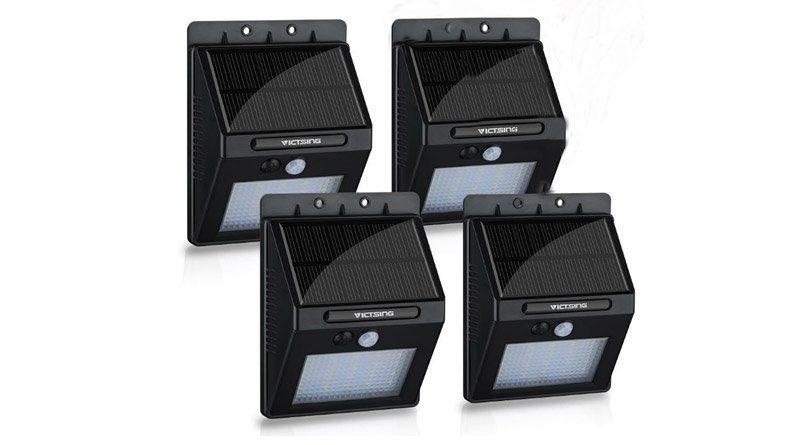 Solar Wall Lights 4 Pack