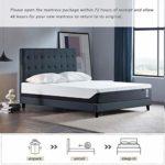 Yosiyo Home Hotel High Density Support Gel Mattress Soft 2-Layer Foam Mattress 12 inch Queen Size