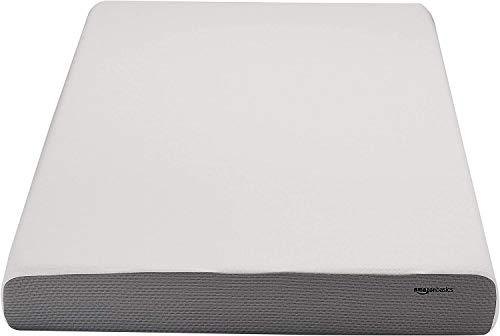 AmazonBasics 6-Inch Memory Foam Mattress – Soft Plush Feel, Twin