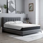 King Size Mattress, SOFTSEA 12 Inch Cooler Sleeping Gel Memory Foam Mattress in a Box, King Bed Mattress with CertiPUR-US Foam for Supportive, Pressure Relief, Eternal Plush