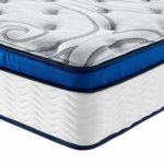 Vibe Quilted Gel Memory Foam and Innerspring Hybrid Pillow Top 12-Inch Mattress, Twin XL
