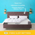 BEDBOSS Hybrid Sleep 10.4-Inch Gel Memory Foam Hybrid Mattress | Medium-Firm Feel | Gel Quilted Cover | Multiple Sizes (Full)