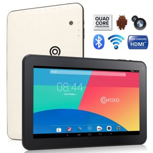 Contixo Q102 10.1 inch Quad Core Google Android 4.4 KitKat Tablet PC
