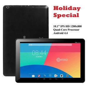 Contixo Q103 10.1 inch Tablet PC Quad Core Google Android 4.4 KitKat