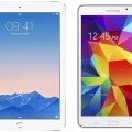 Apple iPad Air 2 MH182LL-A and Samsung Galaxy Tab 4 (7-Inch, White)
