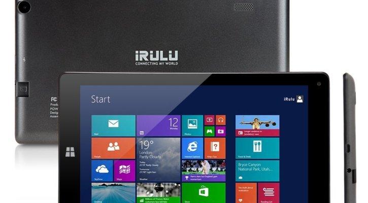 iRULU 8.9 inch Windows Tablet Quad Core, Windows 8.1 OS