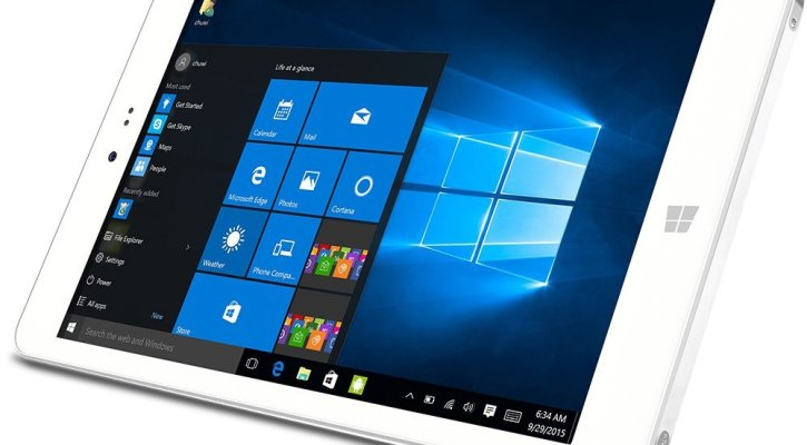CHUWI HI8 Dual OS Tablet 8 inch Windows 10 and Google Android 4.4 KitKat, Double OS Operating System, Intel Quad Core