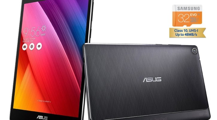 Asus Zenpad S8 Bundle Quad Core 64GB 8 inch Touchscreen QHD 1536x2048 2K IPS, Google Android Lollipop 5.0