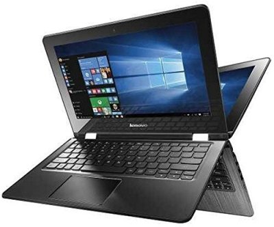 Lenovo Flex 2 in 1 Convertible Tablet-Laptop 11.6 inch Premium Touchscreen, Intel Dual Core N3050 Processor, 4GB DDR3, 500GB HDD, HDMI, 802.11AC WiFi, Windows 10