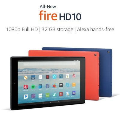 All-New FIRE HD 10 with Alexa Hands-Free