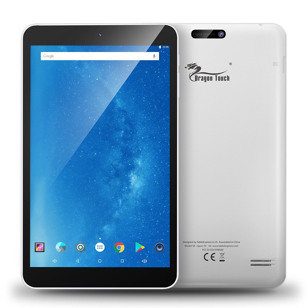 Dragon Touch 8 Inch Android Tablet