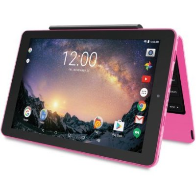 2018 RCA Galileo Pro 11, 2-in-1 Tablet, 11.5 Inch Touchscreen High-Performance Android Tablet PC, Detachable Keyboard, Google Android 6.0, Pink
