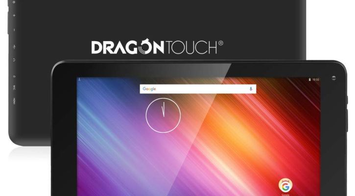2018 Dragon Touch V10 10-inch Android Tablet, 16GB Storage, RAM 1GB, GPS, FM, WiFi, Dual Camera, Google Android 7.0 Nougat, MTK 64-bit 4x1.3GHz Quad-Core