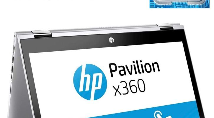 2018 HP Pavilion Convertible 2in1 Tablet-Laptop 14-inch, x360 HD Touchscreen