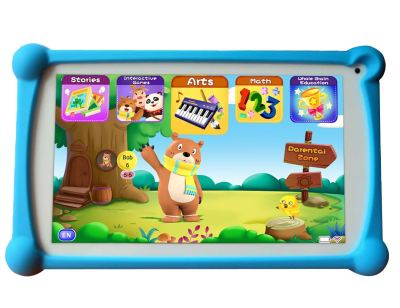 B.B.PAW 7-inch Kids Tablet, Ram 1GB, 8GB Storage, Google Android 6.0