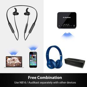 Avantree HT4186 Bluetooth Earphones and Bluetooth Transmitter SET