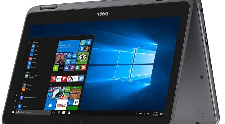 Newest 2018 Dell Lightweight Inspiron 11.6-inch Touchscreen 2 in 1 Tablet-Laptop