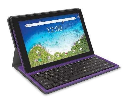 RCA Viking Pro 10-inch Tablet with Folio Keyboard, Multi-Touch Display, Android 8.1