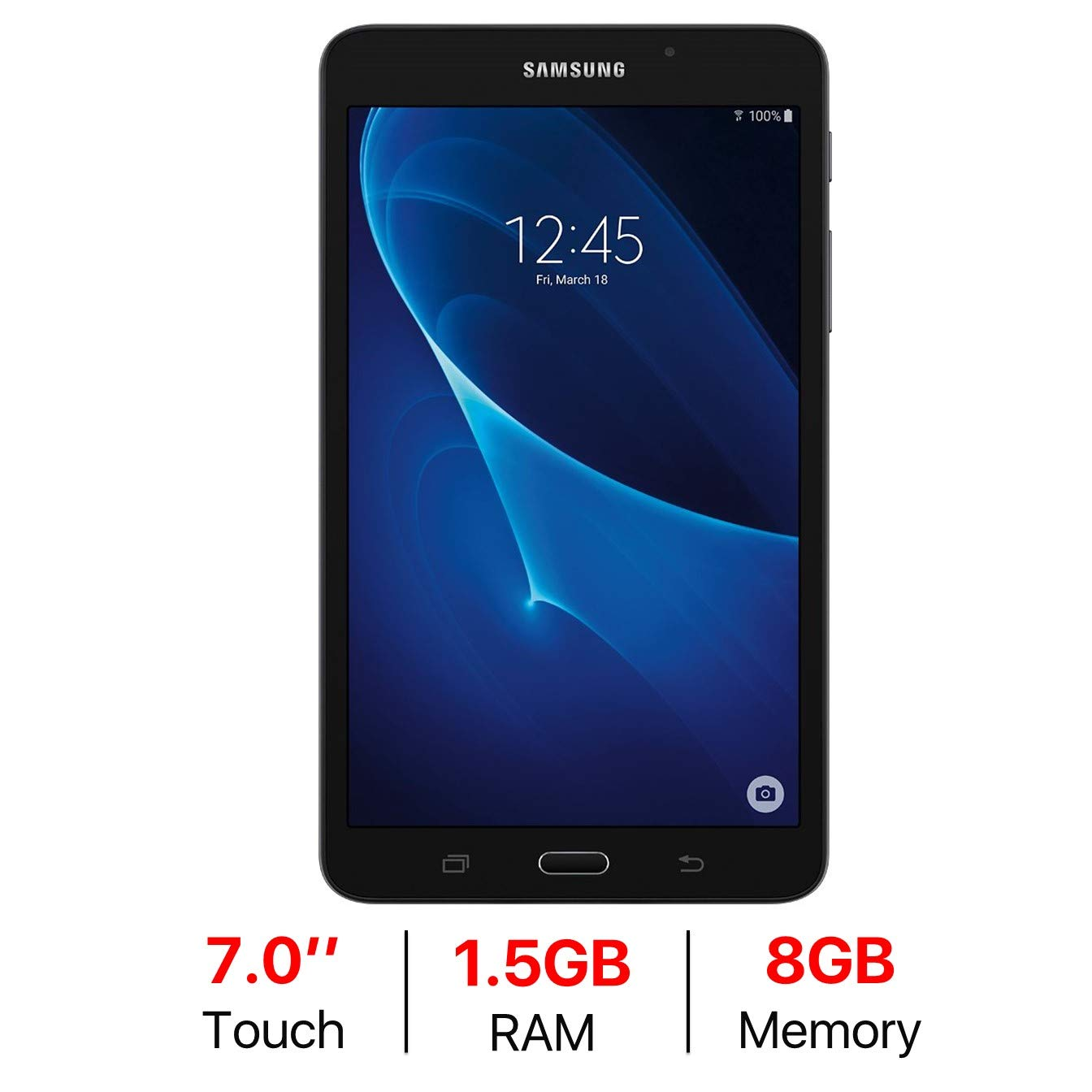 samsung galaxy tab a 7 inch wifi tablet best reviews tablet. Black Bedroom Furniture Sets. Home Design Ideas