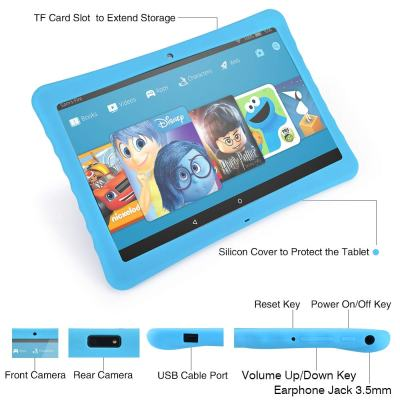 2019 BENEVE 10.1-inch Android Kids Tablet, 1080p Full HD Display Tablet