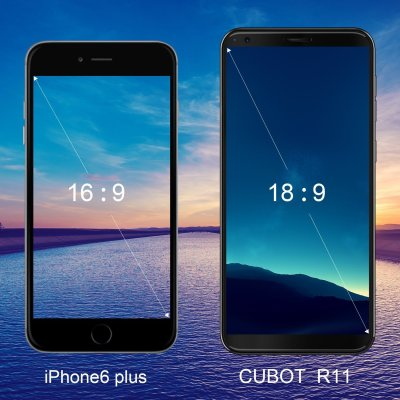 2019 CUBOT R11 Android 8.1 Smartphone Unlocked, 3G Dual SIM Cellphone, 5.5-inch