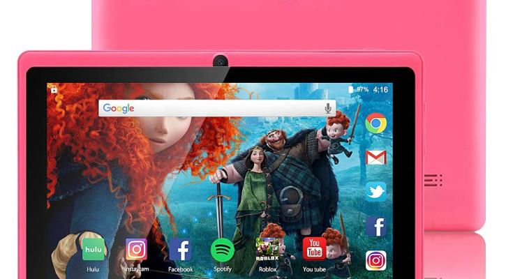 ZONKO 7-inch Tablet Google Android 8.1 Quad-Core 1024x600 Dual Camera Wi-Fi