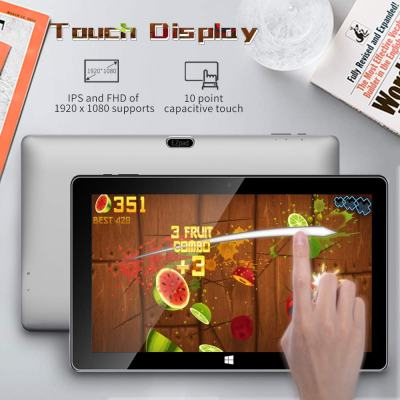 Jumper EZpad 6s Pro Windows Tablet with Keyboard 11.6-inch Full HD Touchscreen