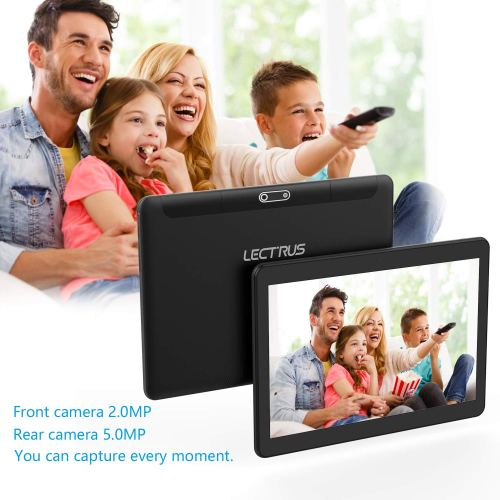 Lectrus 10-inch 5G WiFi Android Tablet, Android 8.1 Go, 6000mAh Battery