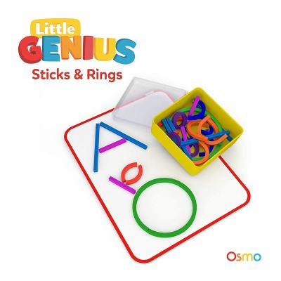 Osmo - Little Genius Sticks & Rings - Includes 2 Games