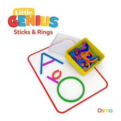 Osmo - Little Genius Sticks & Rings - Includes 2 Games