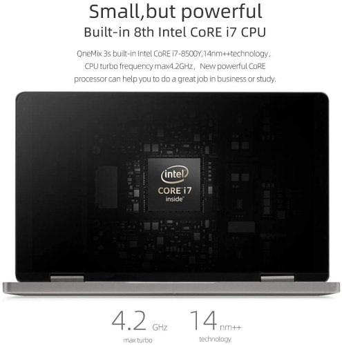 XAMMUE One Mix 3S Yoga One Netbook, CPU Intel 8th Core i7-8500Y