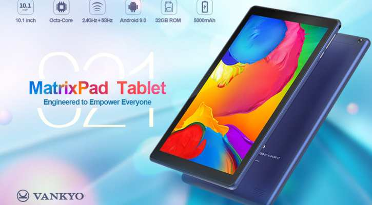 VANKYO MatrixPad S21 10-inch Octa-Core Tablet
