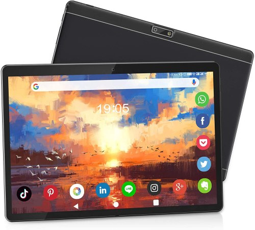 MEIZE 10-inch 3G Phone Tablet, Android 9.0 Pie