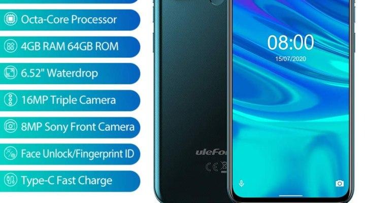 Ulefone Note 9P 6.52-inch 4G LTE Unlocked Smartphone