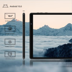 2021 Facetel Q3Pro 10-inch Tablet, Android 10 Tablet with Keyboard