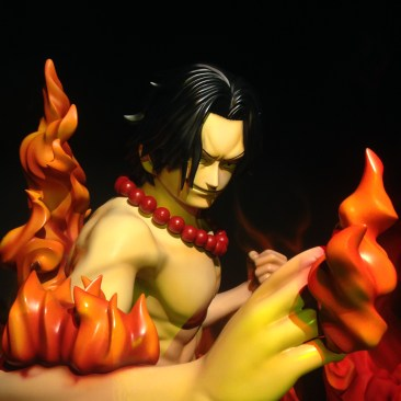 Close up of the Ace figurine