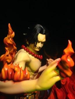 Close up of the Ace figurine