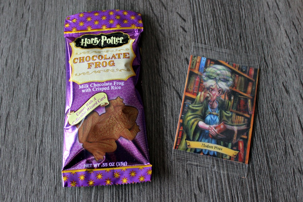 Harry Potter Kikker en Hologram kaartje