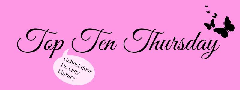 TTT | Top 10 Boeken die Sinterklaas in mijn schoen mag stoppen