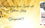 Win het geweldige boek Zwart-wit van Gillian King gesigneerd