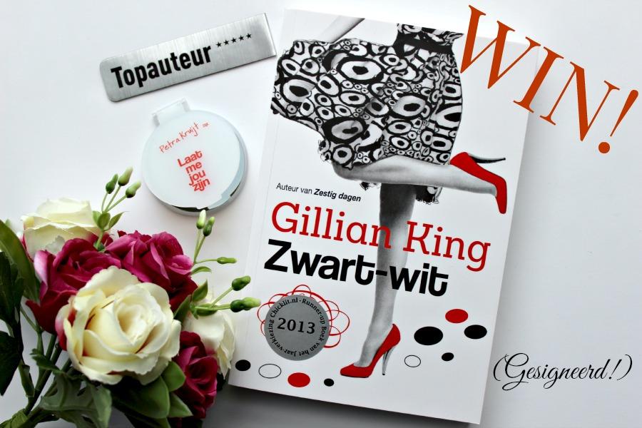 Winnen Zwart-wit Gillian King (Gesigneerd!)