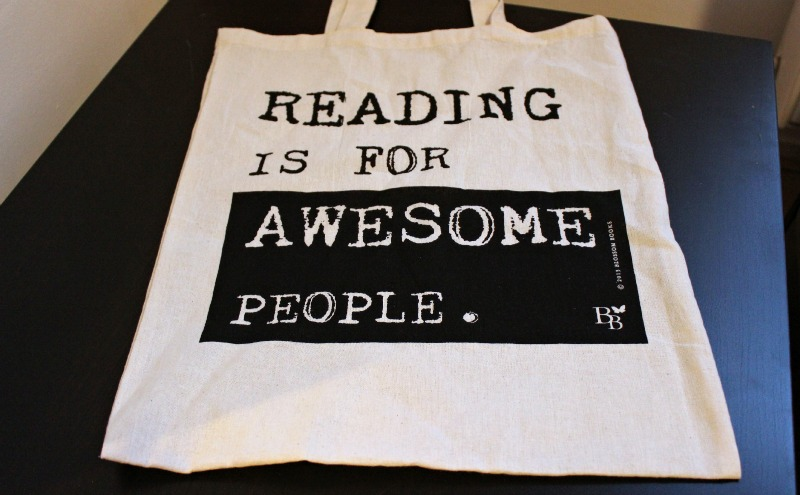 Blossom Books Bag - Reading is for awesome people