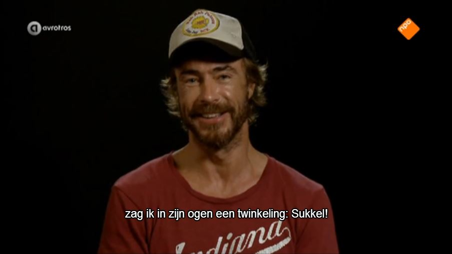 Wie is de Mol Chris twinkeling in ogen sukkel