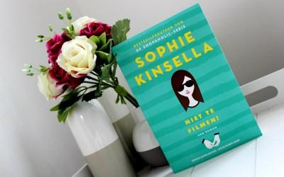 Boekrecensie | Niet te filmen! – Sophie Kinsella