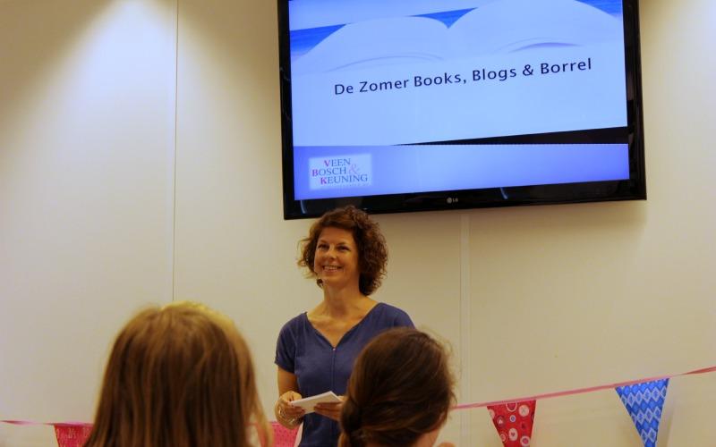 Zomer Books, Blogs & Borrel - Inge van der Krabben