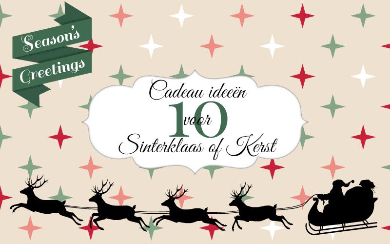 Favoriete 10x Cadeau ideeën voor Sinterklaas of Kerst onder 15 euro #UC97
